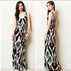 Anthro Vanessa Virginia Talassemtane Maxi Dress